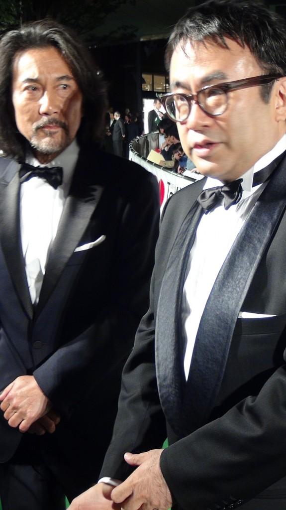 役所広司さん(左)と 三谷幸喜さん(右) Photo by OIKAWA Henri-Kenji