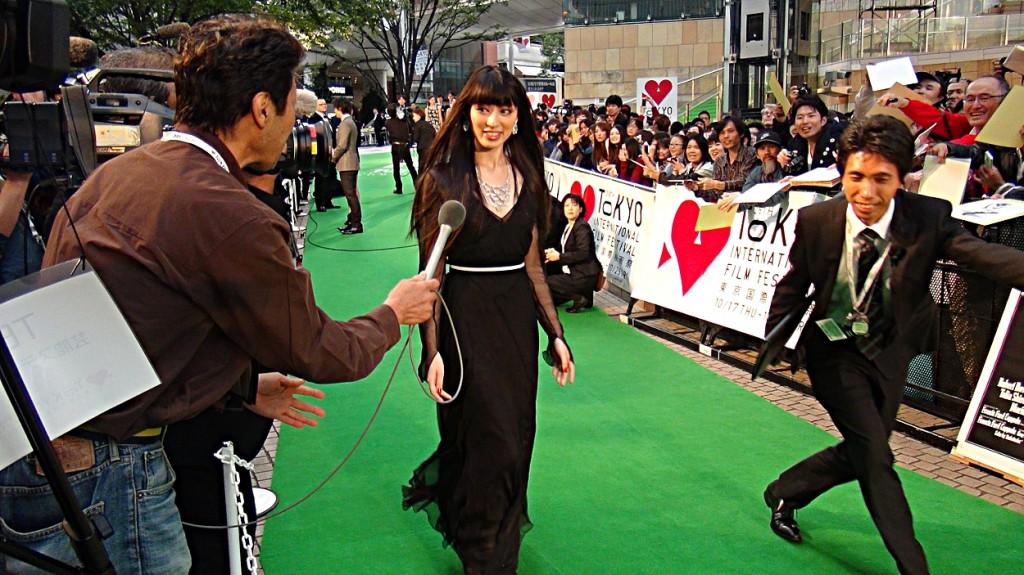 「フェスティバル・ミューズ」 を務める女優の栗山千明氏 Photo by OIKAWA Henri-Kenji
