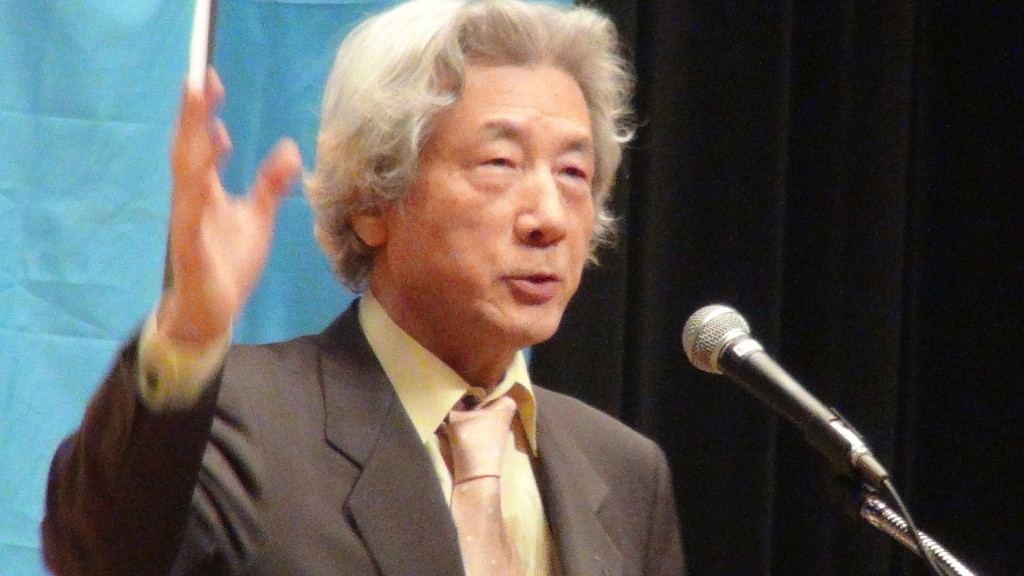原発ゼロ!を訴える 小泉純一郎・元首相