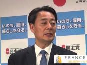 安倍会見は手の込んだ芝居-海江田万里「民主党」代表が批判