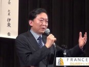集団的自衛権に反対-鳩山由紀夫・元首相が講演