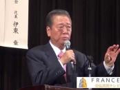 小沢一郎・代表が講演「外交の王道を語る」豊島公会堂