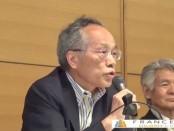 佐高信さん、菅原文太さんらが憲政記念館で安倍政権を批判