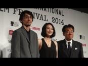 第 27 回東京国際映画祭ラインナップ発表会 フェスティバル・ミューズの中谷美紀さんが登壇