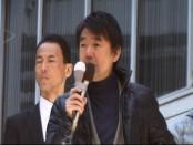 総選挙2012で演説する橋下徹・大阪市長 撮影:及川健二