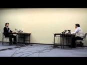 橋下徹・大阪市長が桜井誠「在特会」会長と激突 プレスの前で意見交換会