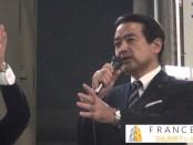 【総選挙2014】江田憲司「維新の党」代表らが街頭演説 安倍失政を厳しく批判