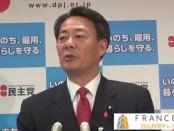 アベノミクスで非正規が150万人増え、正規は9万人減った-海江田万里「民主党」代表が解散宣言受けて緊急会見