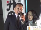 解散に大義なし-平沼赳夫「次世代の党」党首&山田宏・幹事長が街頭演説