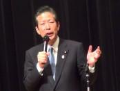 軽減税率の導入を-山口那津男「公明党」代表が訴え