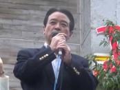 【総選挙2014】消費増税のお金を流用して公共事業に充てている-江田憲司「維新の党」代表が訴え
