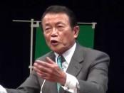 【解散総選挙2014】暴言・失言?ギャグ連発!麻生太郎・副総理が演説会