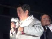 【総選挙2014】アベノミクスの成果を訴え-安倍晋三・首相