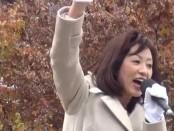 【総選挙2014】もっと自由を、「自由の大国」を-釈量子「幸福実現党」党首が訴え