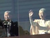 天皇陛下、81歳に 一般参賀に2万3000人