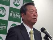 野党再編に意欲-小沢一郎「生活の党」代表が選挙結果を受けて会見
