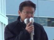 長妻昭・元厚労相が民主党代表選告示を受け第一声