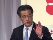 岡田克也氏を民主党新代表に選出 党大会、全模様公開