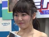 グラビア・アイドル望月茉莉さんが『やさしく妄想ラブ』DVD発売を記念して会見
