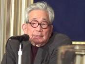 「脱原発を最後の仕事に…」大江健三郎さんが日本外国特派員協会で会見