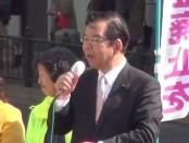 志位和夫「日本共産党」委員長が統一地方選挙で最後の訴え