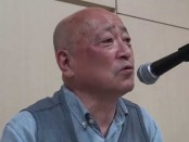 室谷克実さんが講演「追い詰められた韓国の深層」