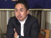出澤剛「LINE」社長がいじめの取り組みについて特派員協会で説明
