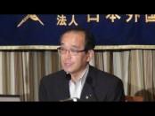 疑心暗鬼から信頼関係を構築する世界へ-松井一實・広島市長が日本外国特派員協会にて記者会見