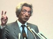小泉純一郎・元首相が講演 「原発、即ゼロで日本は甦る」
