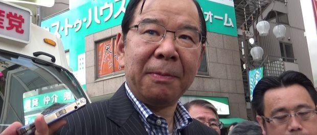 【総選挙2017】小池新党は希望でなく失望-志位和夫「日本共産党」委員長@ぶらさがり取材