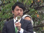 【総選挙2017】日本を取り戻し、この国を守り抜く-小泉進次郎、演説@中野駅北口