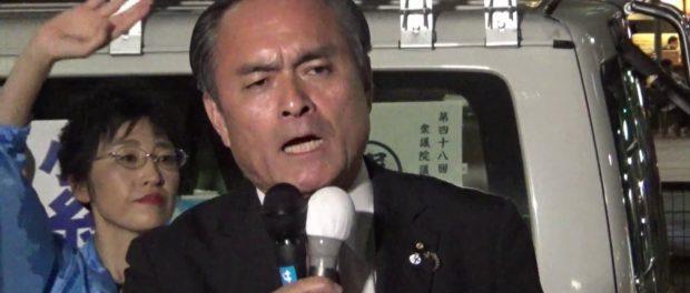 【総選挙2017】憲法改正は許さない-吉田忠智「社民党」党首、演説