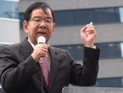 4000人「安倍内閣退陣せよ」 「森友」に怒り 市民と4野党 大宣伝ー志位和夫「日本共産党」委員長、演説